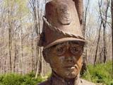 1812 War Monument Closeup
