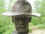 Spanish America War Monument Closeup
